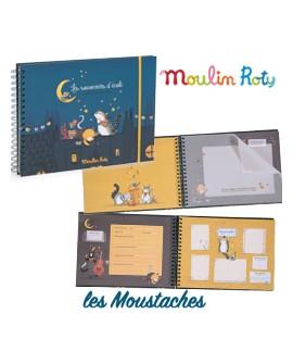 Album souvenirs d'école Les Moustaches Moulin Roty.