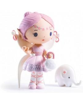 Figurines Elfe et Bolero, Tinyly.