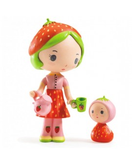 Figurines Berry et Lila, Tinyly.