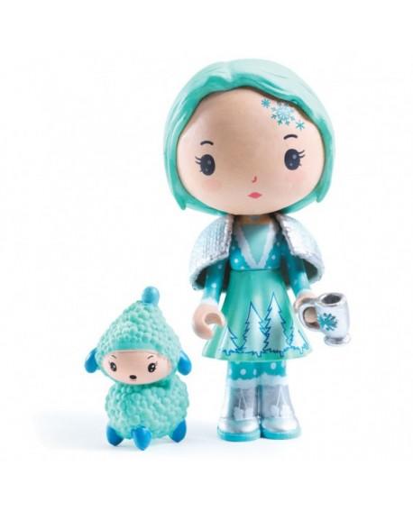 Figurines Cristale et Frizz, Tinyly.