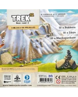 Trek12 base camp 2 (recharche 150 feuilles)