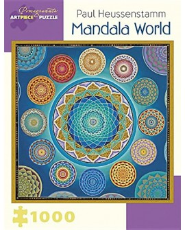 Puzzle 1000p Paul Heussenstamm - mandala world