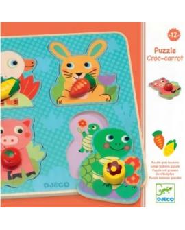puzzle bouton Croc-carrot