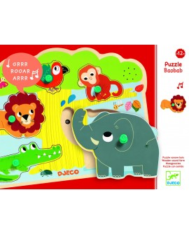 puzzle sonore Baobab