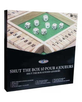 shut the box 10 (4 joueurs)