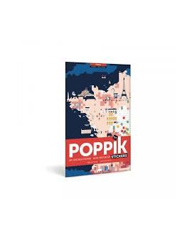 Sticker carte de France - POPPIK
