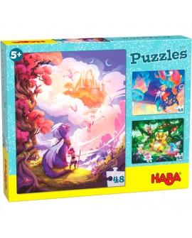 Puzzles Au pays fantastique
