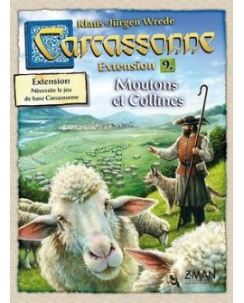 Carcassonne moutons et collines, ext9