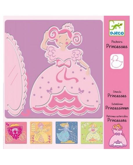pochoir princesses
