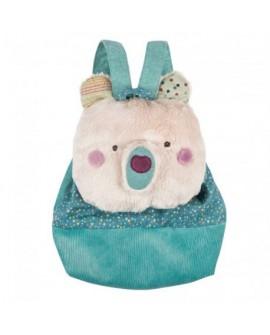 sac dos ours creme - jolis trop beaux
