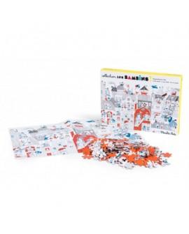 Puzzle dans la ville 208p -bambins