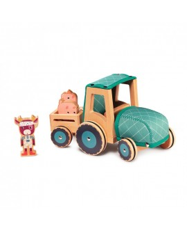 tracteur d'assemblage