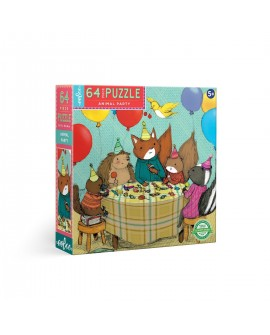 puzzle LA FETE DES ANIMAUX 64 PCEs