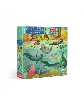 puzzle LOUTRES 64 PCES