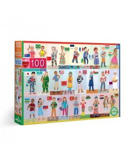 puzzle ENFANTS DU MONDE 100 PCES