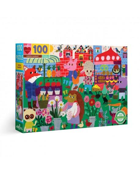 puzzle MARCHE ECOLOGIQUE 100 PCES