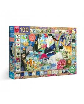 puzzle sciences naturelles 100 PCES