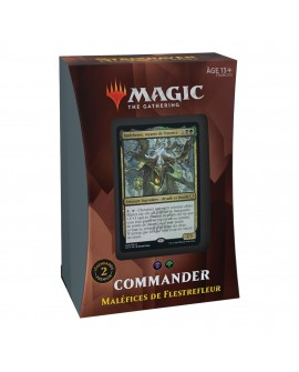 MTG : Strixhaven Commander Deck FR - Maléfices de Flestrefleur