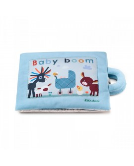 Baby boom - livre tissu