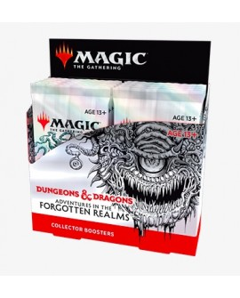 MTG : forgotten realms Collector Booster FR