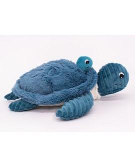 Sauvenou Tortue maman/bébé bleue