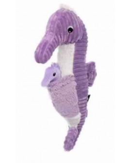 Papadou Hippocampe papa/bébé lilas