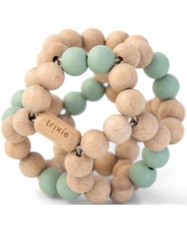 Wooden beads ball - Mint