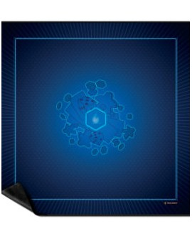 Tapis bleu Taille 3 (92x92cm)