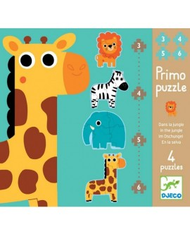 Primo puzzle jungle - DJECO