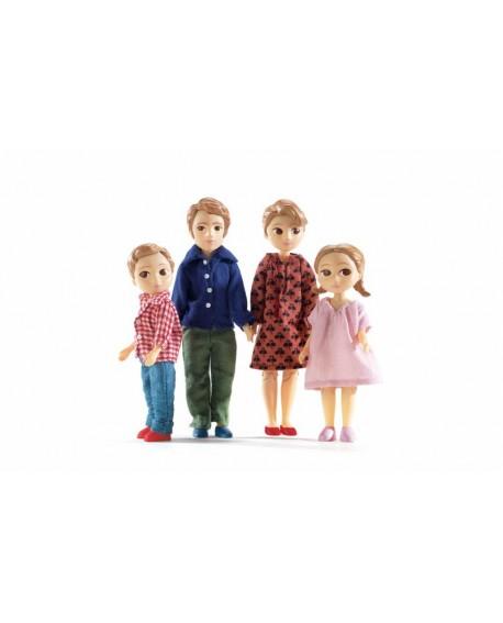La famille de Thomas et Marion-djeco