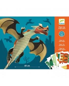 Paper Toy Dragon géant