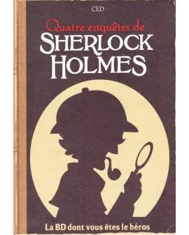 Sherlock Holmes - La BD dont vous êtes le héros : Quatre Enquêtes (Livre 2)