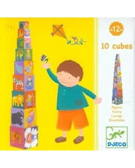 10 cubes rigolos