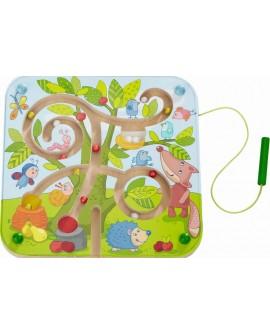 jeu magnetique : arbre labyrinthe