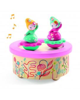 boite musique magnetique : flower melody
