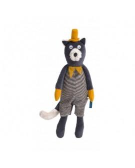 poupée chat gris Alphonse- les moustaches