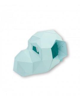 masque papier 3D singe