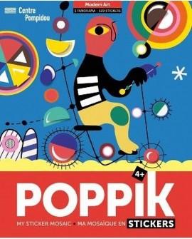 Sticker art moderne - POPPIK