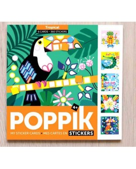 Sticker tropical - POPPIK