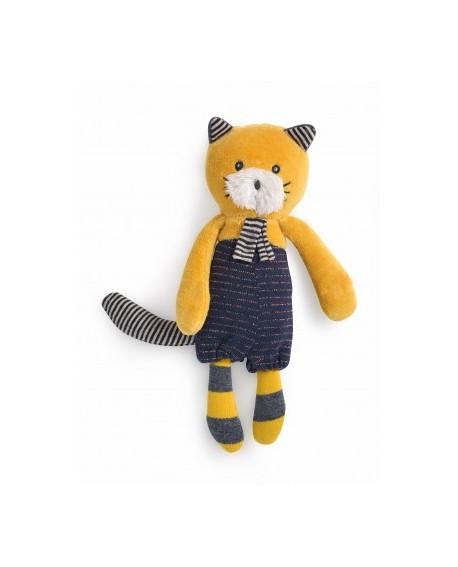 miniature chat moutarde Lulu- les moustaches