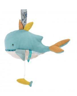 poupée musicale baleine -voyage d'Olga